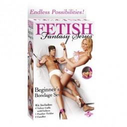 FETISH FANTASY KIT DE ATADURAS PARA PRINCIPIANTES