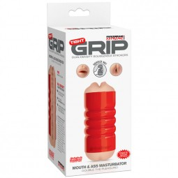 PIPEDRAM EXTREME TOYZ TIGHT GRIP BOCA ANO MASTURBADOR
