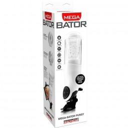 PDX MEGA BATOR USB MASTURBADOR MASCULINO VAGINA BLANCO