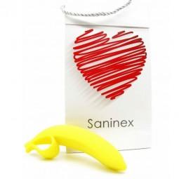 SANINEX DILDO BANANA ORGASMIC FANTASY AMARILLO