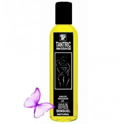 EROS ART ACEITE MASAJE TANTRICO NATURAL Y AFRODISiACO NEUTRAL 200ML