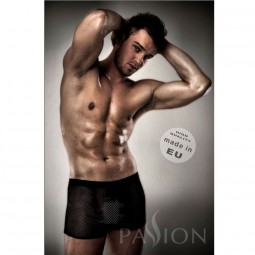 PASSION 004 MEN RED LINGERIE BLACK S M