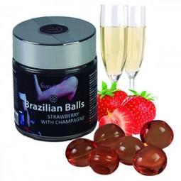 SET 6 BRAZILIAN BALLS FRESAS CON CAVA