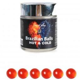 BRAZILIAN BALLS EFECTO CALOR FRIO 6 UNIDADES