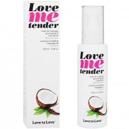 LOVE TO LOVE ME TENDER MASAJE EFECTO CALOR SABOR A COCO 100ML