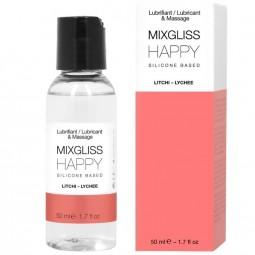 MIXGLISS HAPPY LUBRICANTE SILICONA LITCHI 50 ML