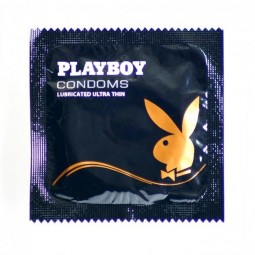 PLAYBOY ULTRA FINO CONDON TRANSPARENTE 3 UDS 54MM
