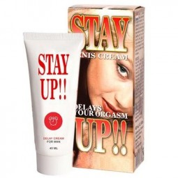 STAY UP 40ML CREMA POTENCIADOR ERECCIoN