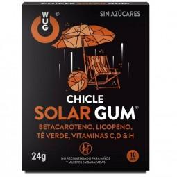 WUG CHICLE SOLAR GUM 10UDS