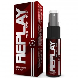REPLAY DELAY SPRAY RETARDANT AND MOISTURIZING EFFECT 20 ML