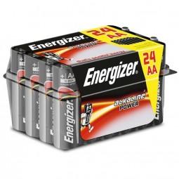 ENERGIZER ALKALINE POWER PILA ALCALINA AA LR6 PACK24