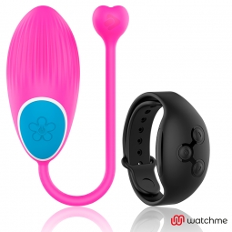 WEARWATCH HUEVO CONTROL REMOTO TECHNOLOGY WATCHME ROSA NEGRO