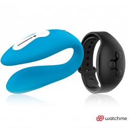 WEARWATCH VIBRADOR DUAL TECHNOLOGY WATCHME AZUL NEGRO