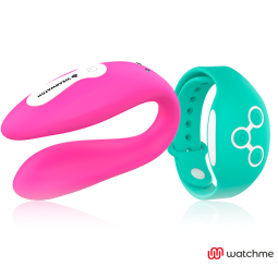 WEARWATCH VIBRADOR DUAL TECHNOLOGY WATCHME FUCSIA AGUA MARINA