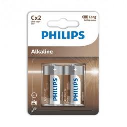 PHILIPS ALKALINE PILA C LR14 BLISTER2