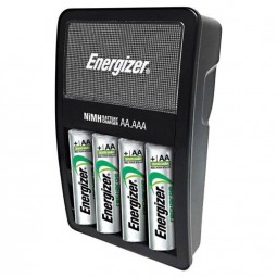 ENERGIZER CARGADOR PILAS AA 4 PILAS INCLUIDAS