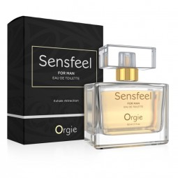 ORGIE SENSFEEL FOR MAN PERFUME CON FEROMONAS HOMBRE 50 ML