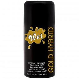 WET GOLD HYBRID LUBRICANTE HIBRIDO 148 ML