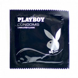 PLAYBOY CLASSIC TRANSPARENTE PLEASURE 54MM 3 UDS
