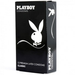 PLAYBOY CLASSIC TRANSPARENTE PLEASURE 54MM 12 UDS