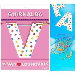 GUIRNALDA VIVAN LOS NOVIOS