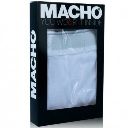 MACHO MX090 CALZONCILLO BLANCO TALLA S