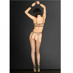 LEG AVENUE KINK BODYSTOCKING CON ESPOSAS TALLA UNICA