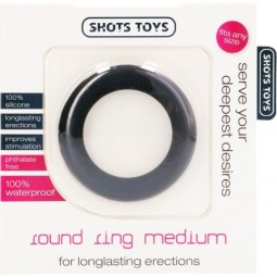 SHOTS TOYS ANILLO PENE ROUND COCK RING M