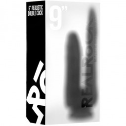 REAL ROCK DOUBLE PENETRACION NEGRO ANAL 16 VAGINAL 12 CM