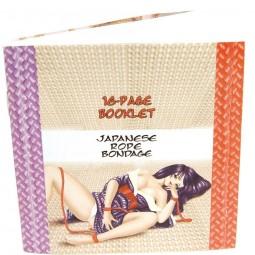 TOPCO CUERDA JAPONEA ROJO 5 M CON LIBRO BONDAGE