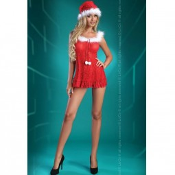 LIVCO CORSETTI CHRISTMAS BELL BABYDOLL S M