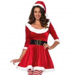 LEG AVENUE SANTA CLAUS 3PCS SET S M