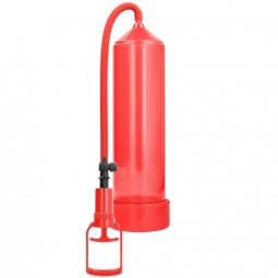 PUMPED BOMBA ERECCION PRINCIPIANTES COMFORT BEGINNER PUMP ROJO
