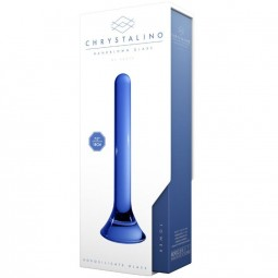 CHRYSTALINO TOWER DILDO AZUL