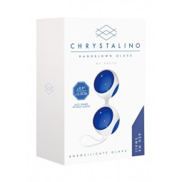CHRYSTALINO BEN WA SMALL BALLS BLUE