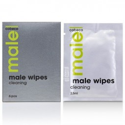 COBECO MALE WIPES TOALLITAS HIGIENICAS 6 X 25ML