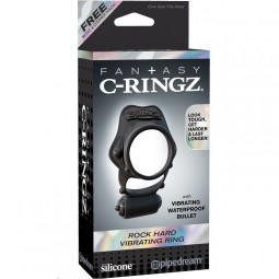 FANTASY C RINGZ ROCK HARD ANILLO VIBRADOR DOBLE
