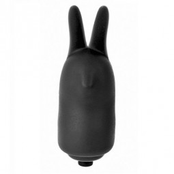 POWER RABBIT VIBRATING G SPOT RING NEGRO