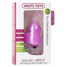 POWER RABBIT VIBRATING G SPOT RING ROSA