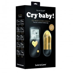 LOVE TO LOVE GOLD CRY BABY CONTROL REMOTO 10V