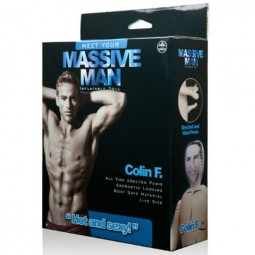MASSIVE MAN MUNECO HINCHABLE COLIN F