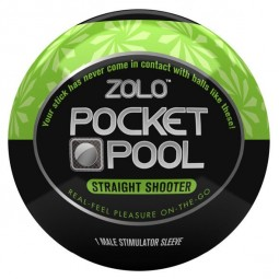 ZOLO POCKET BOLA MASTURBADOR STRAIGHT