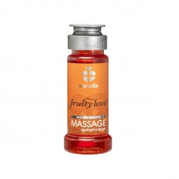 FRUITY LOVE ACEITE MASAJE EFECTOR CALOR 50 ML NARANJA ALBARICOQUE