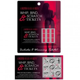 KHEPER GAMES JUEGO WHIP BIND AND SCRATCH TICKETS ES EN FR DE