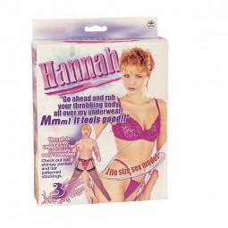 HANNAH MUNECA HINCHABLE