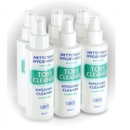 TOY CLEANER LIMPIADOR JUGUETES LUBRIX 125ML PACK 6 UDS