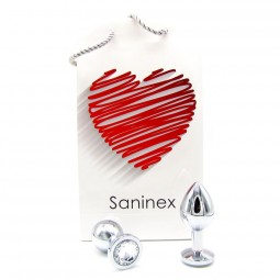SANINEX PLUG METAL DIRECT PLEASURE DIAMOND