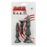 BACK UP KIT 2 PLUG ANALES SILICONA